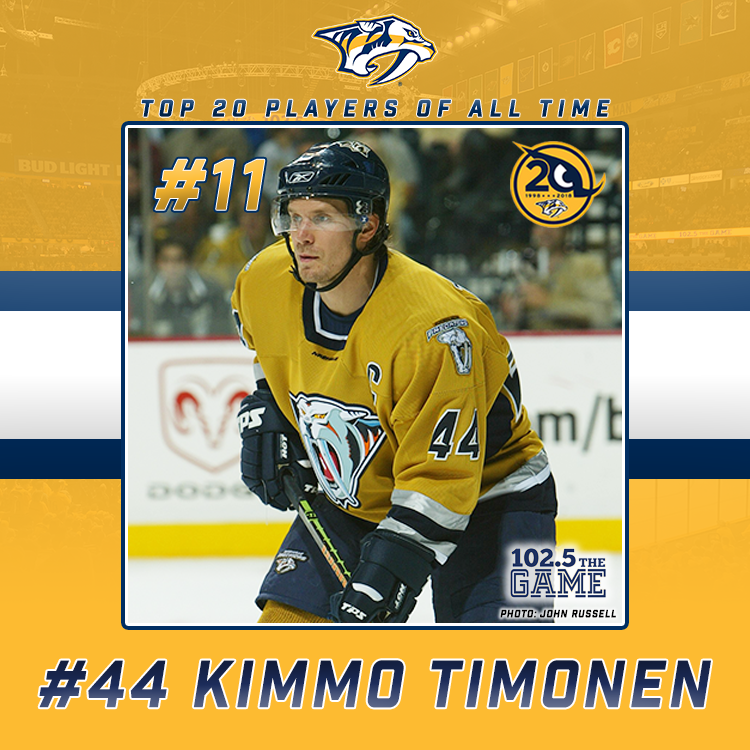 Top 20 Predators of All Time: #11 Kimmo Timonen