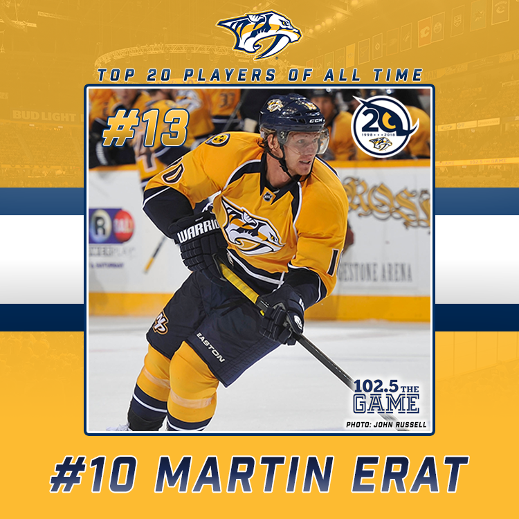 Top 20 Predators of All Time: #13 Martin Erat