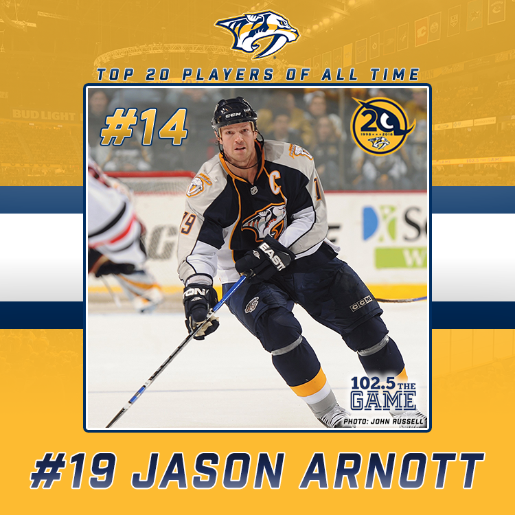Top 20 Predators of All Time: #14 Jason Arnott