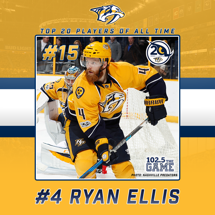 Top 20 Predators of All Time: #15 Ryan Ellis