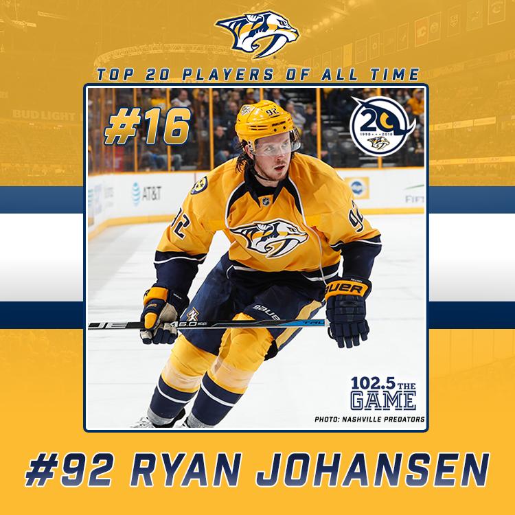 Top 20 Predators of All Time: #16 Ryan Johansen