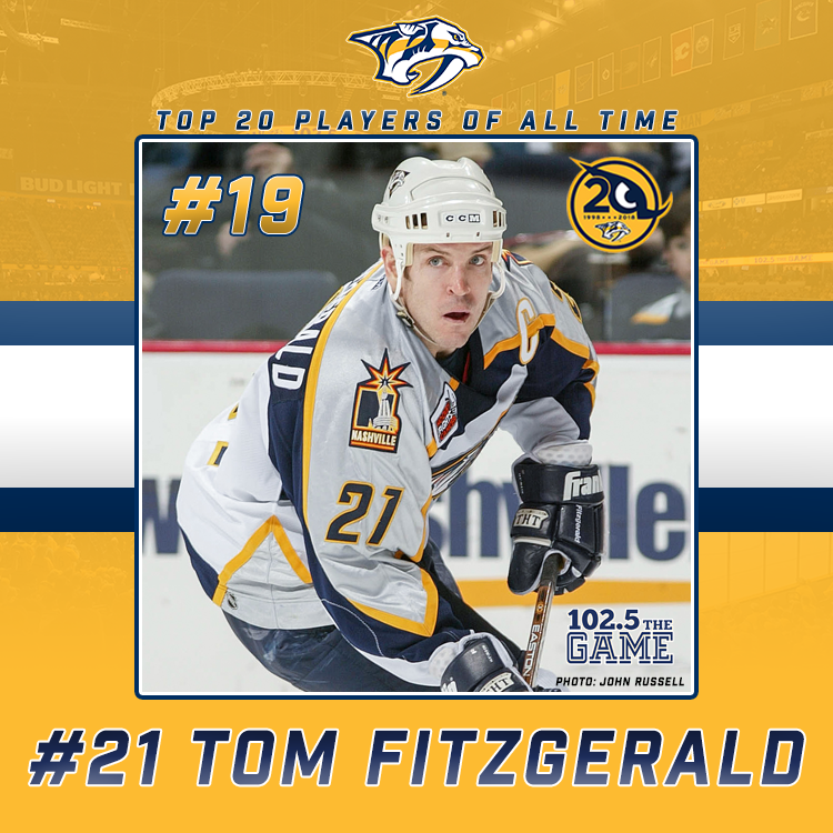 Top 20 Predators of All Time: #19 Tom Fitzgerald
