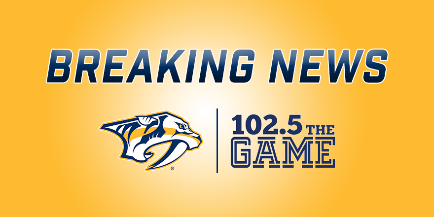 UPDATED: Forsberg to miss 4-6 weeks with upper-body injury