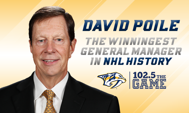 Preds GM David Poile thanks 303 in personal letter