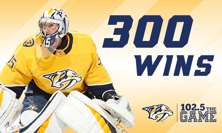Pekka Rinne: 300 by the numbers