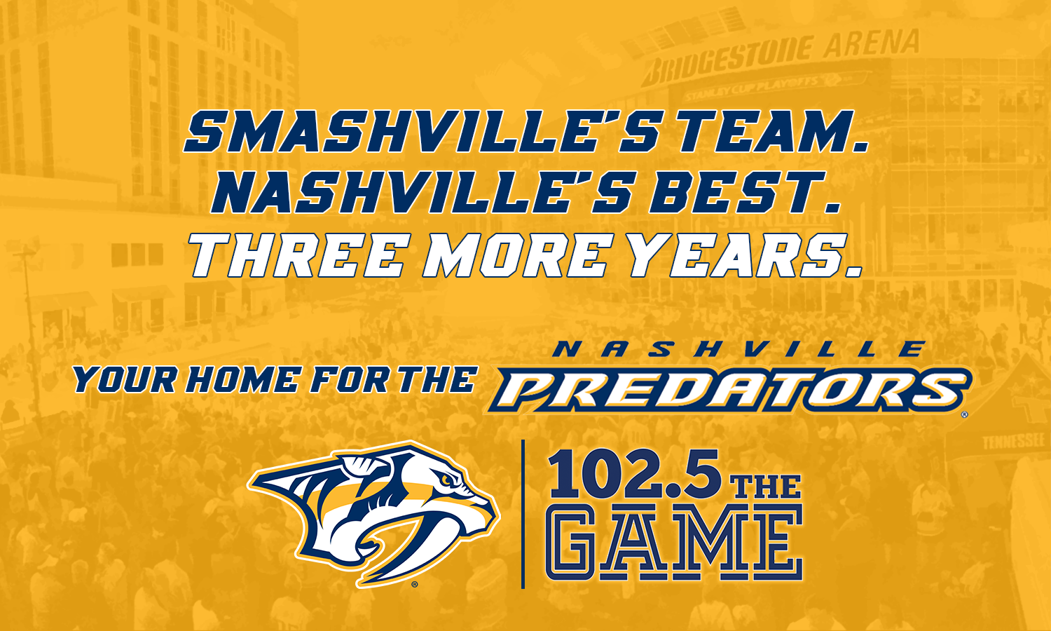 ESPN 102.5 The Game, Nashville Predators extend partnership through 2020-21 season