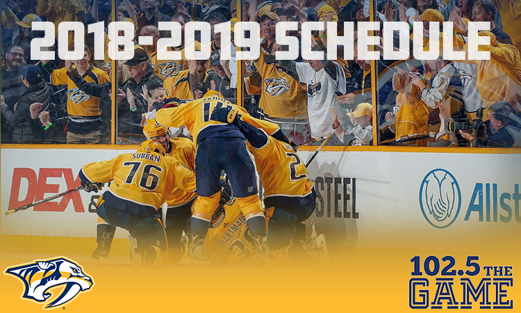 Feature: http://www.thegamenashville.com/predators-schedule/