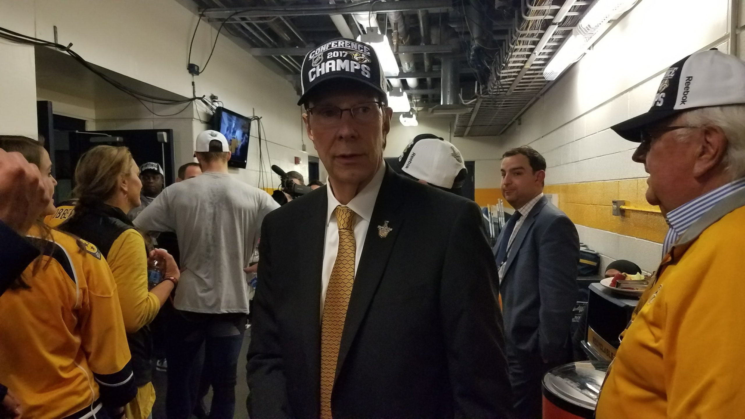 Preds GM David Poile to be enshrined in U.S. Hockey Hall of Fame