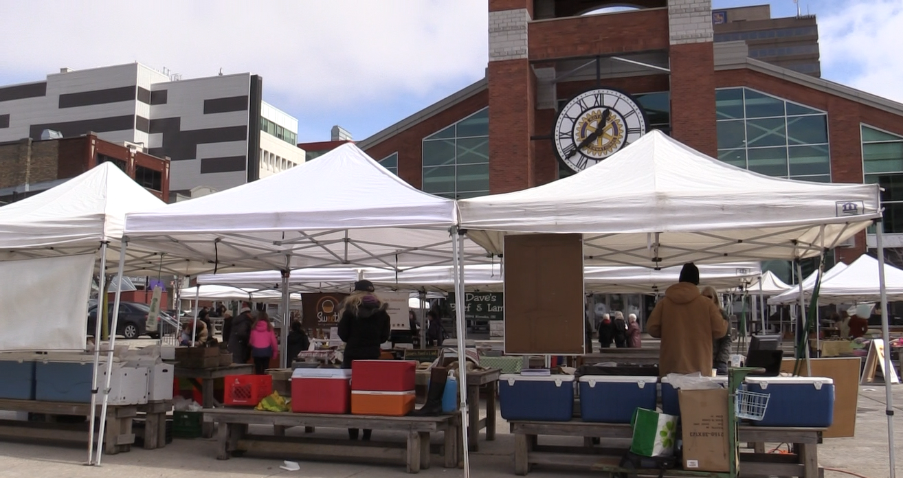 Local businesses thriving at farmer's markets