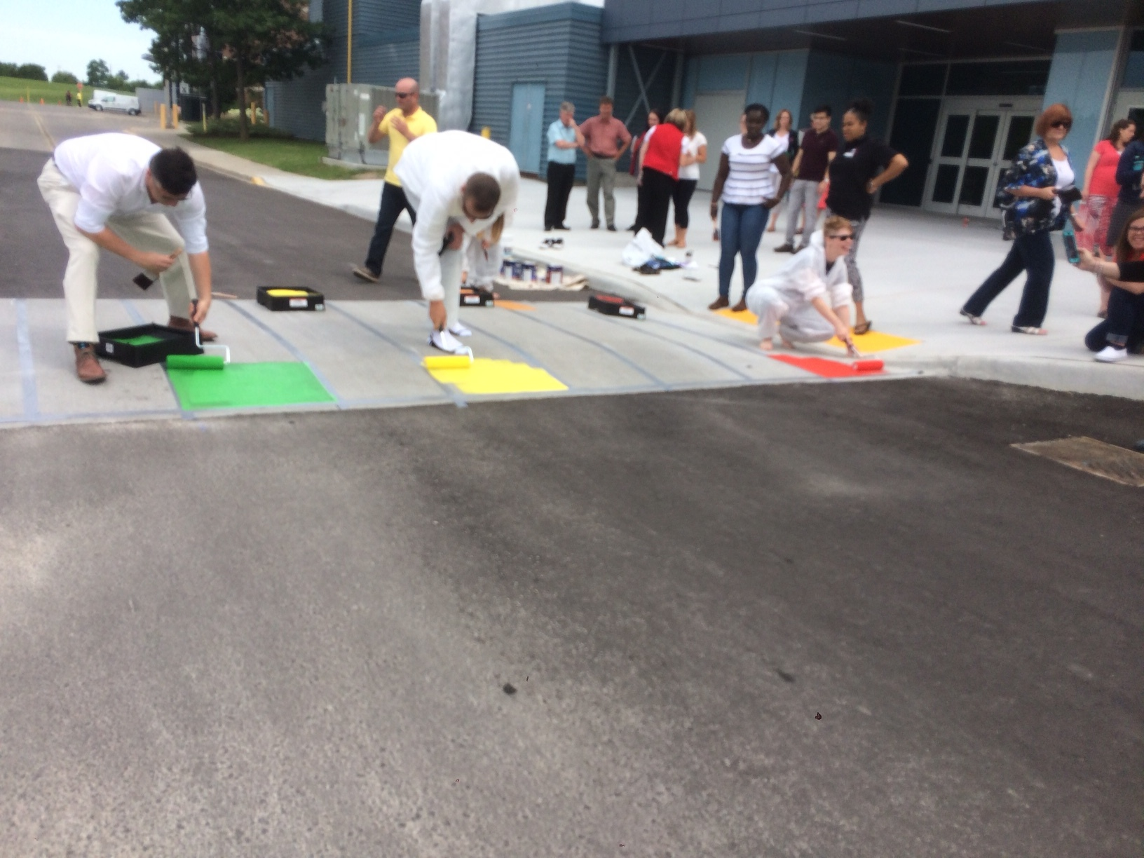 Fanshawe Rainbow Crosswalk
