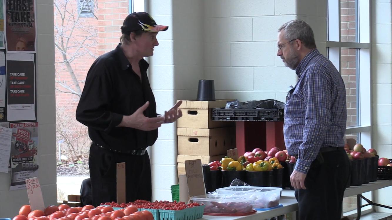Meet the man behind Fanshawe's farmer's market