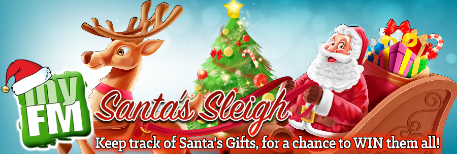 Feature: https://www.southsimcoetoday.ca/myfm-santa-sleigh/