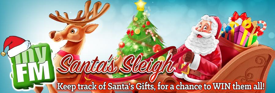 Feature: https://www.orangevilletoday.ca/myfm-santa-sleigh/