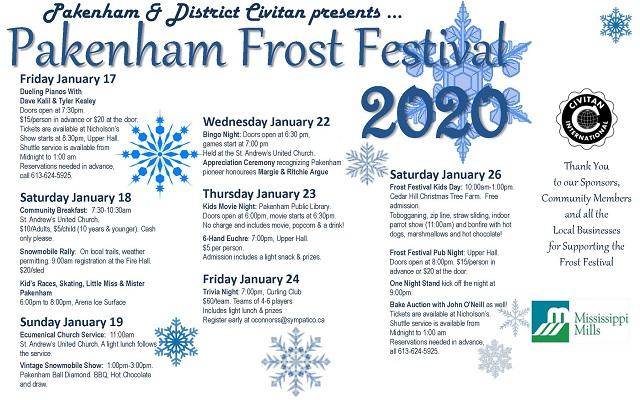 Pakenham's Frost Festival is nine days of fun