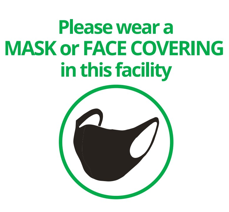 RCDHU outlines where faces masks will be required