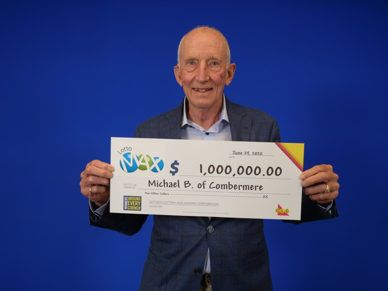 Valley resident wins $1-million playing Lotto Max
