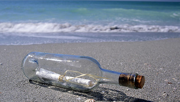 French Girl's Message in a Bottle Washes Up in North Carolina