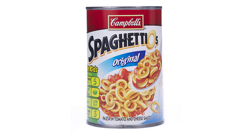 Woman Arrested After Assault with Can of Spaghetti-O's