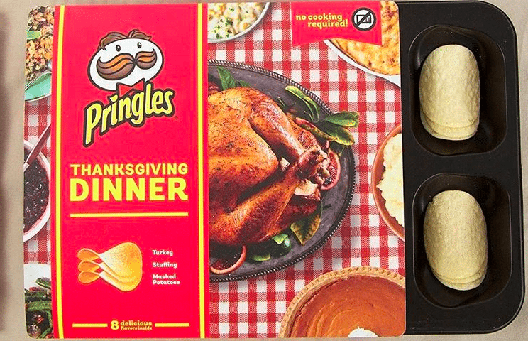 Turkey, Stuffing and Pumpkin Pie-Flavored Pringles? Thanksgiving Chips Are Back