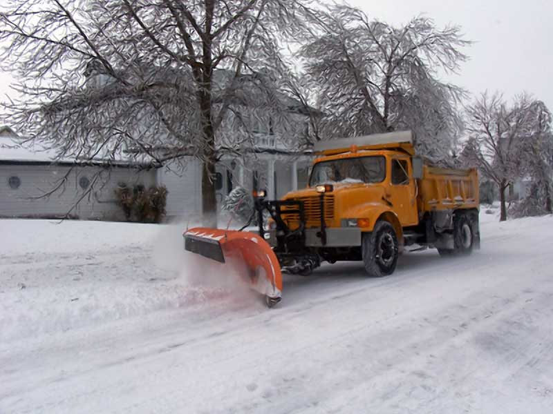 Pantsless Man Steals and Crashes Snow Plow