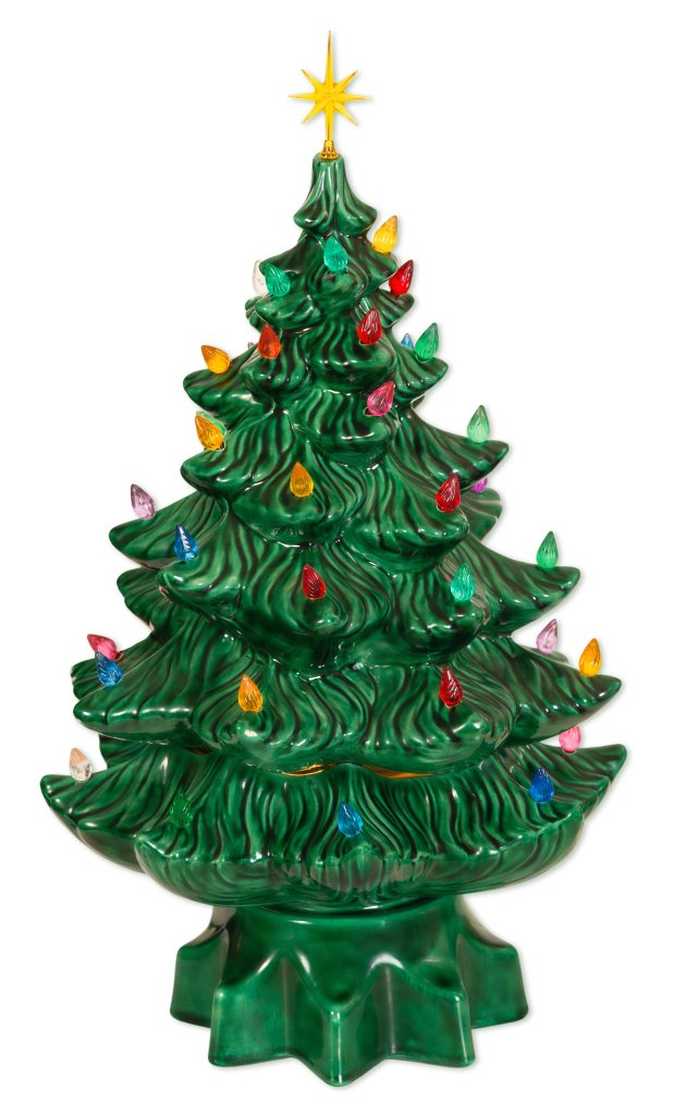 Vintage Ceramic Christmas Trees Are Selling for a Lot of Green
