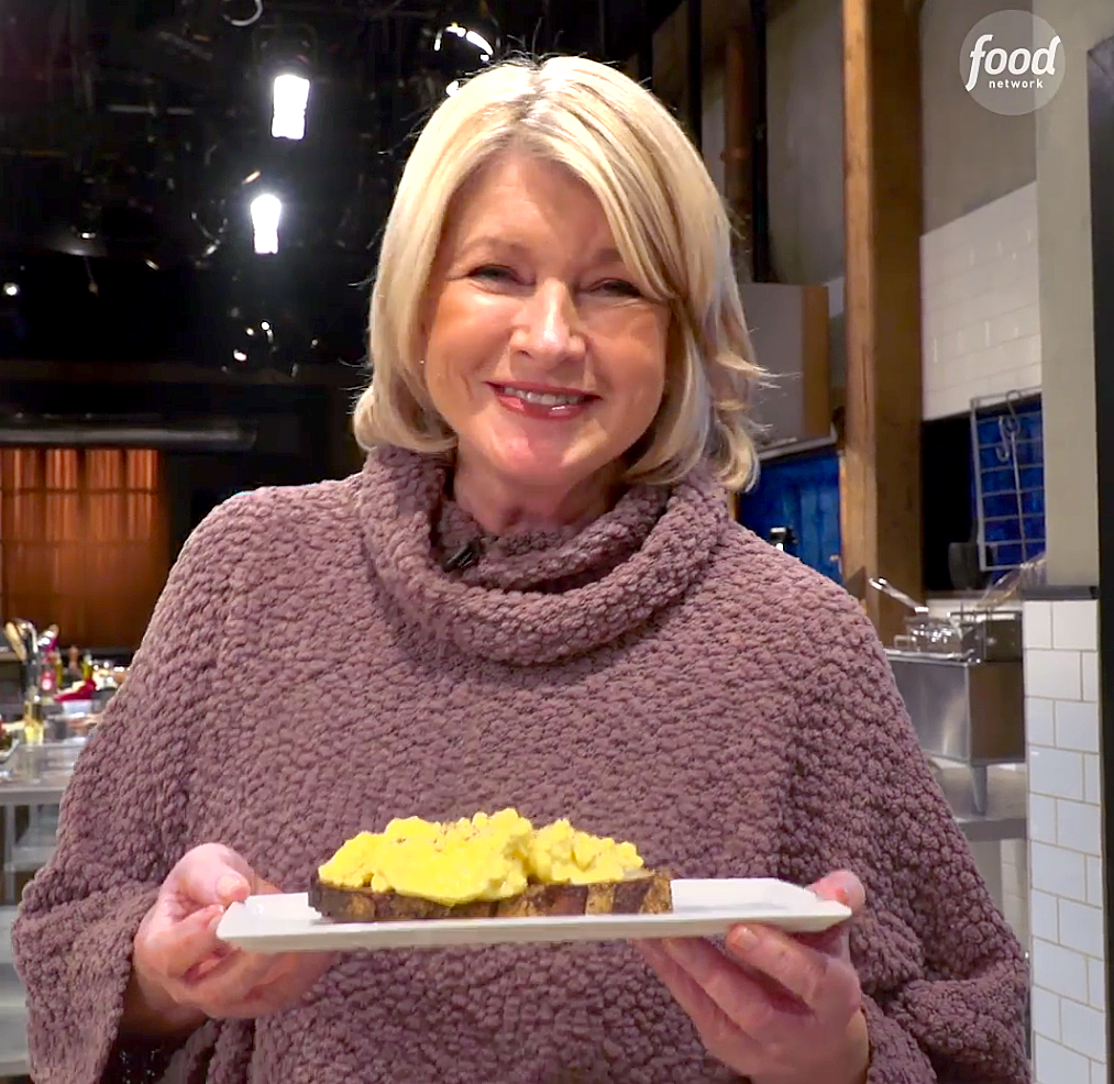 Martha Stewart's Scrambled Egg Hack Involves Cappuccino Machine and People Aren't Having It
