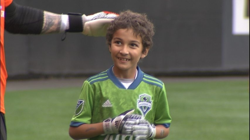 8-Year-Old Boy Battling Leukemia Plays for Seattle Sounders