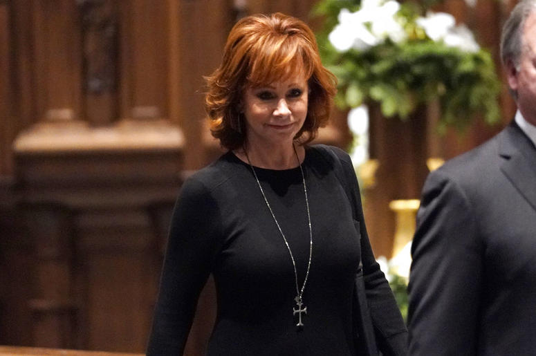 WATCH REBA MCENTIRE SING 'THE LORD'S PRAYER' AT PRESIDENT GEORGE H.W. BUSH FUNERAL