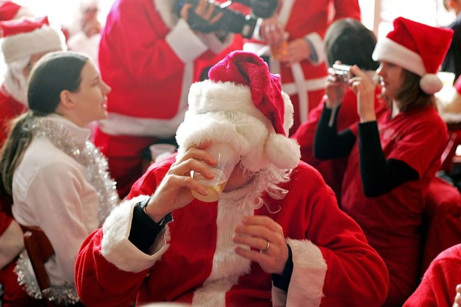 People Drink Twice as Much Over the Holidays