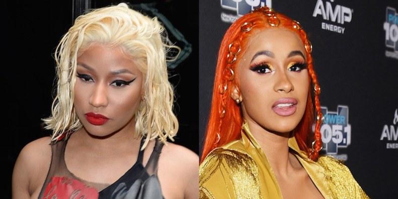 Nicki Minaj and Cardi B Lash Out at Each Other