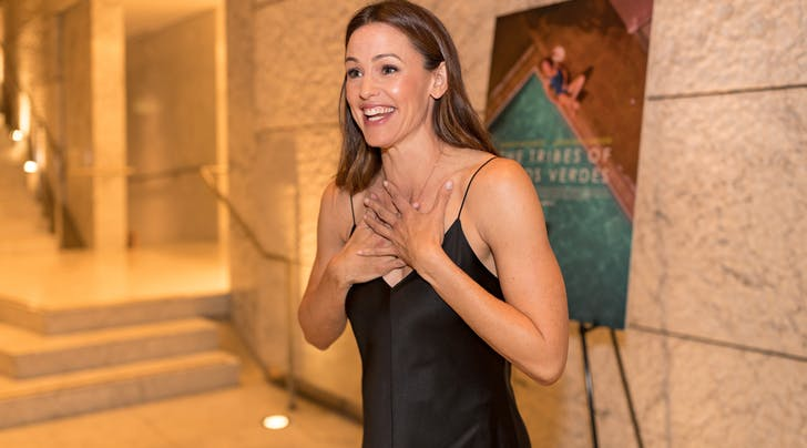Jennifer Garner Had a Wardrobe Malfunction at Church