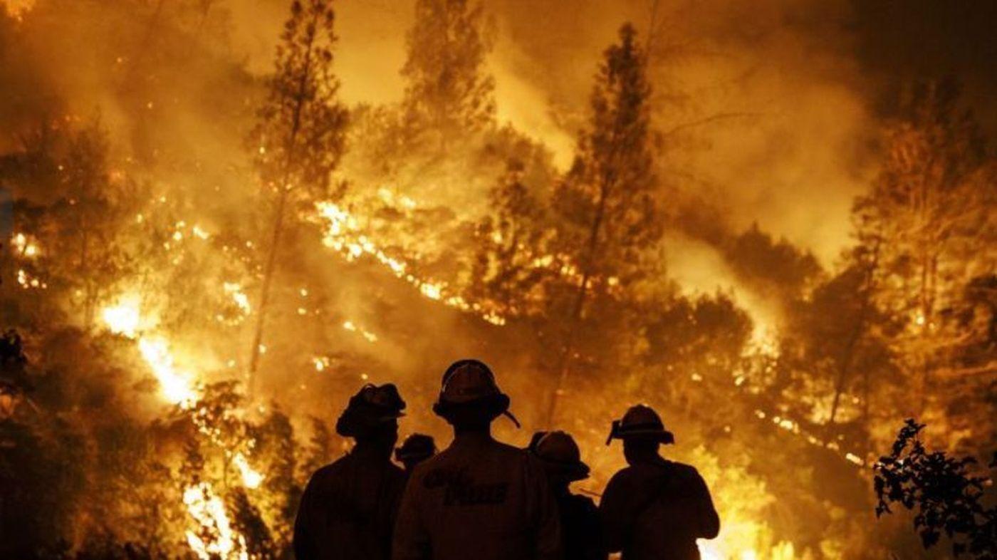 Khloe Kardashian Donates Supplies to Firefighters Battling California Fire