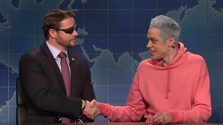 Pete Davidson Apologizes to Dan Crenshaw on SNL, Crenshaw Accepts and Serves Jokes