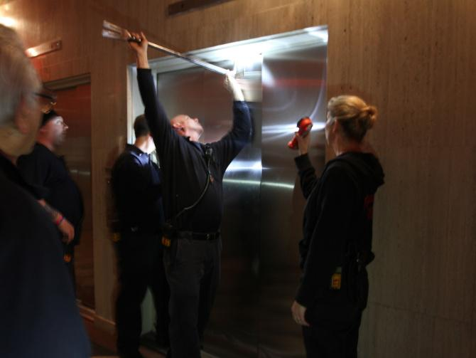 Squirrel Causes Power Outage Trapping People in Elevators