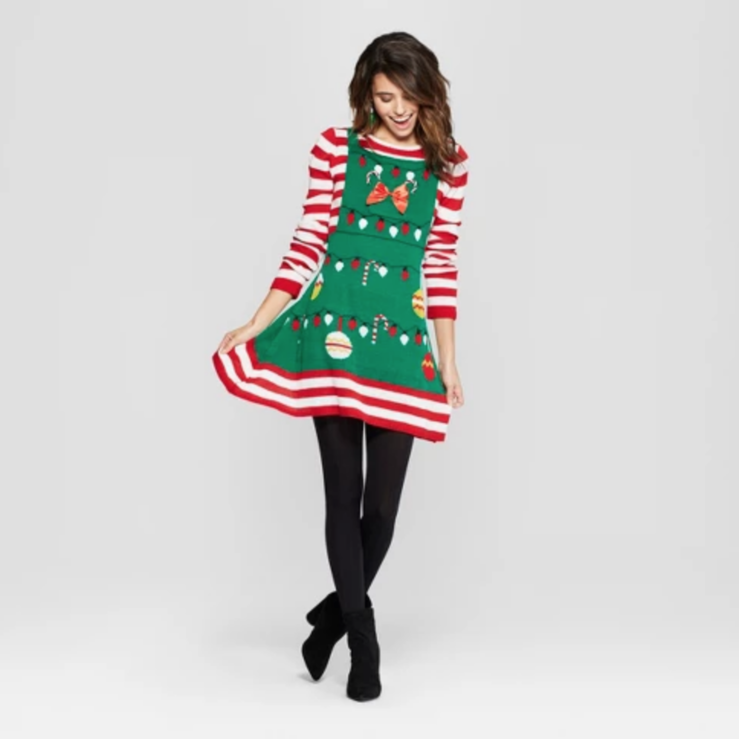 Target Is Selling 'Ugly Sweater' Dresses for the Holidays