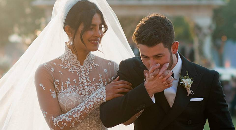 Priyanka Chopra's Wedding Dress Took 1,826 Hours to Make