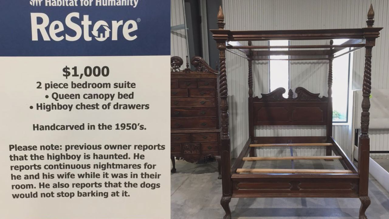 Thrift Warns Furniture May Be Haunted