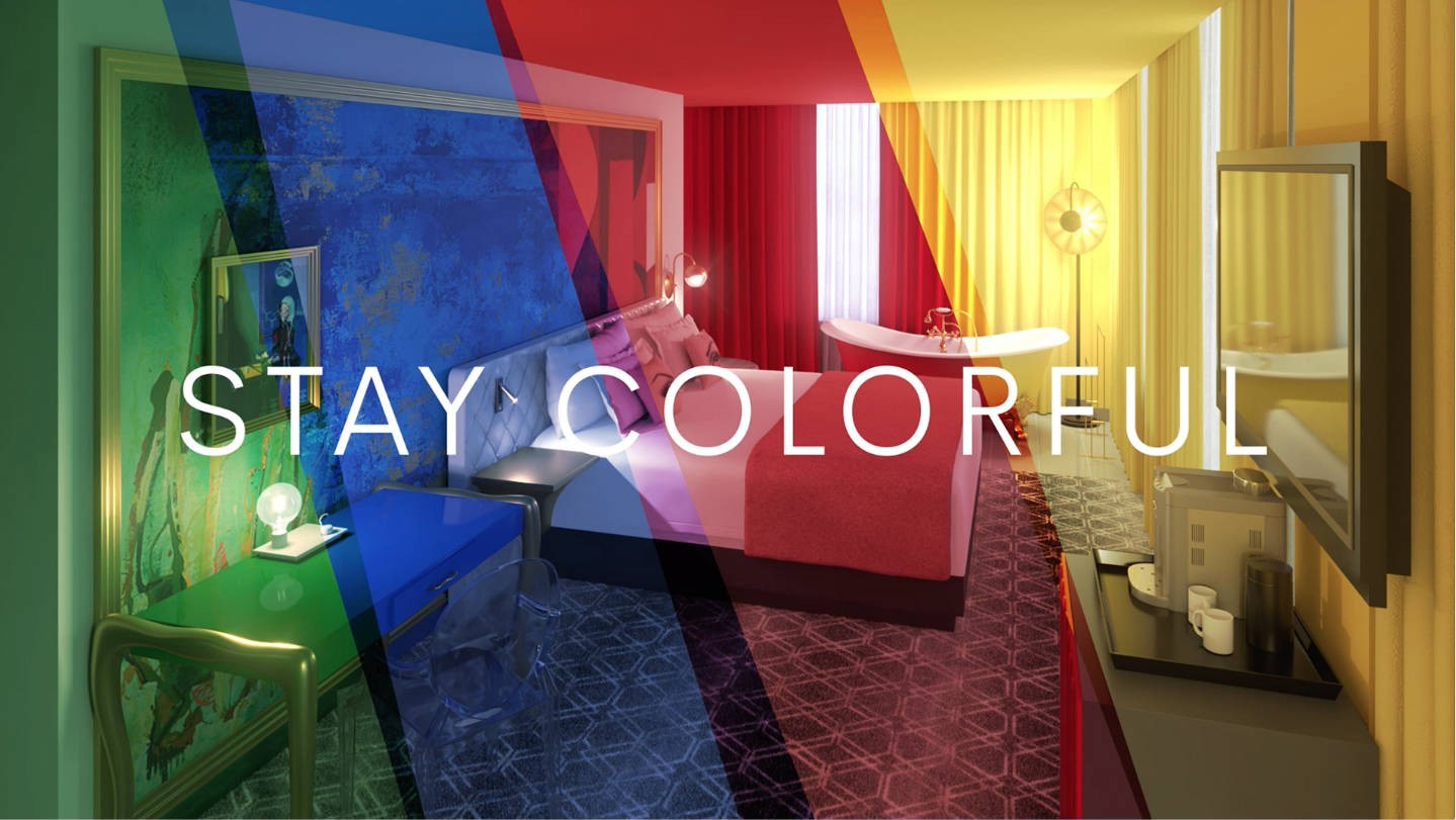 #Stay Colorful with the Angad Arts Hotel Giveaway