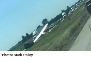 ISP:  Small Plane Makes Emergency Landing on I-55 Near Lincoln
