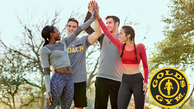 Gold's Gym Membership Giveaway