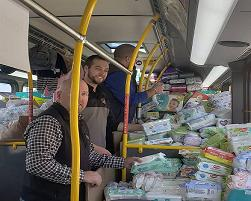Thank You, for Helping Us Stuff the Bus for Children's Home and Aid Crisis Nursery