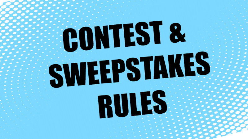 Contests & Sweepstakes Rules | www cities929 com