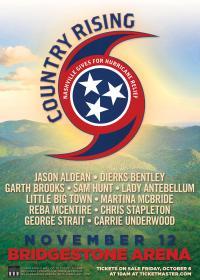 JASON, DIERKS, GARTH: Superstars Plan Concert for Hurricane Relief