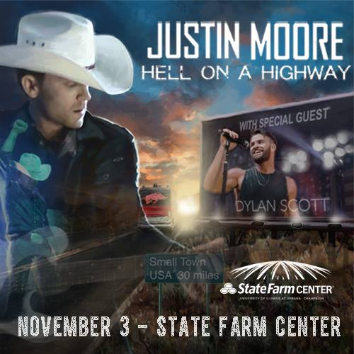 Justin Moore Coming To Champaign