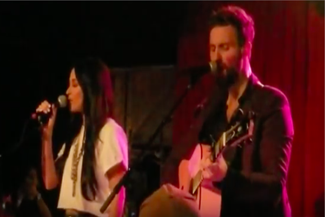 Kacey Musgraves Joins Husband Ruston Kelly for Surprise Duet [Watch]
