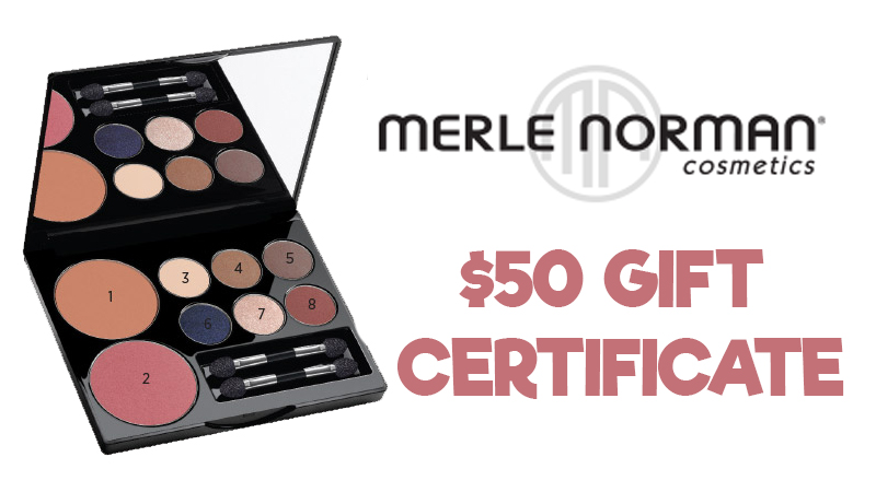 Win a $50 Gift Certificate to Merle Norman!