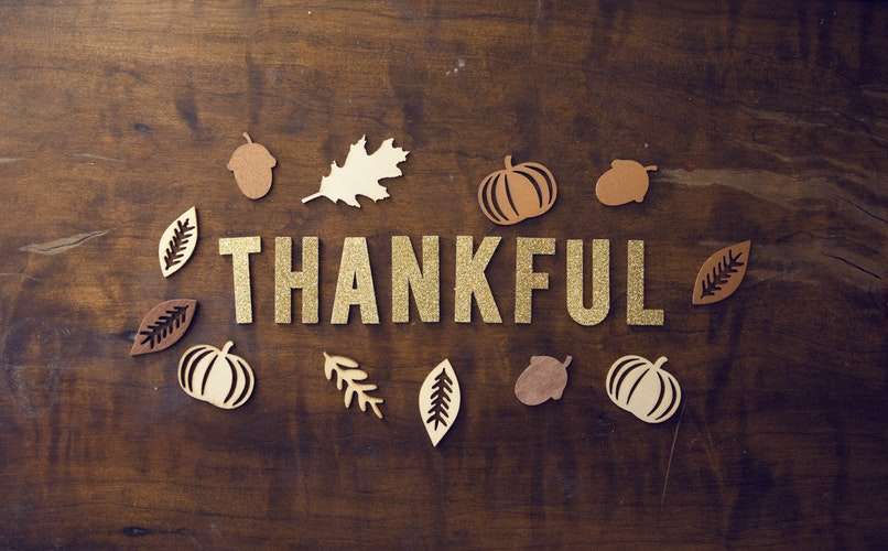 Time To Be Thankful