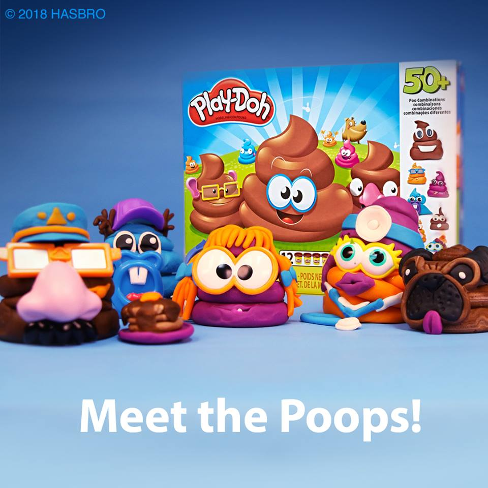 """Poop Troop""  Is The latest Set From Play-Doh...Seriously"