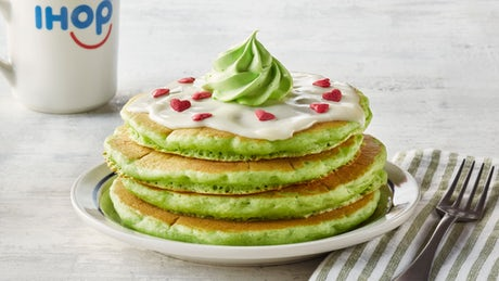 iHop Offers New Menu In Honor Of The New Grinch
