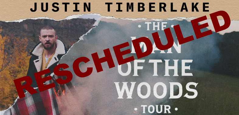 Justin Timberlake reschedules Dec 13th show at Enterprise Center